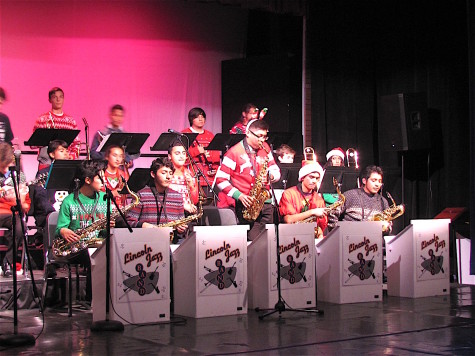 "REVIEW: Lincoln Band ""Jazz"" it up for Winter Concert"