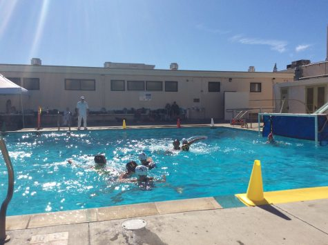 Girls Water Polo Makes A Splash