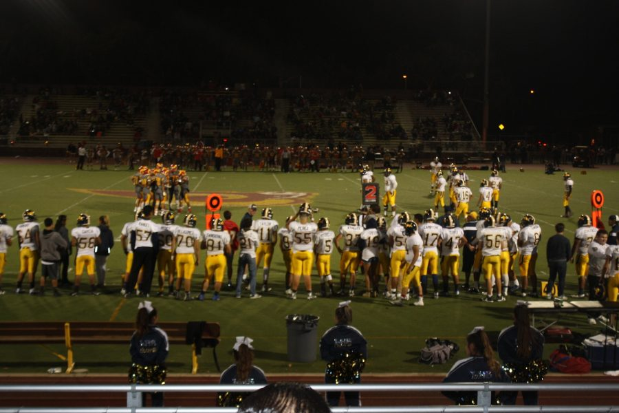 Football Recap and Pictures: Friday Sept. 23, 2016 Lincoln Vs. Willow Glen