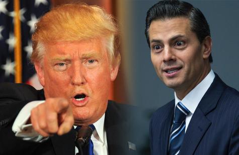 Trump en México