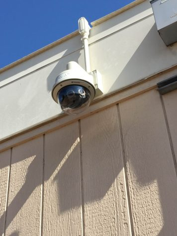 Security Cameras go up at Lincoln High School