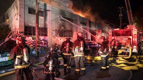 Incendio En Oakland
