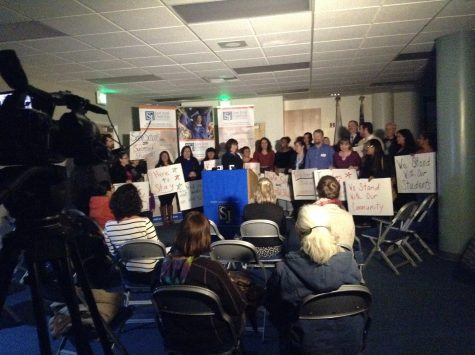 SJUSD Holds Press Conference About Safe School Environments