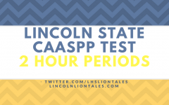 Lincoln's State CAASPP Test And Its 2 Hour Periods