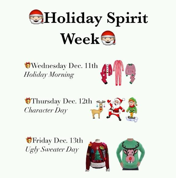 Holiday spirit week 2013 lion tales for Christmas spirit ideas