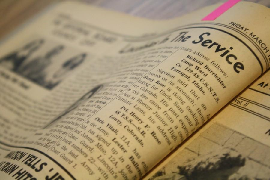 Online Archive Plans to Immortalize Past School Newspapers