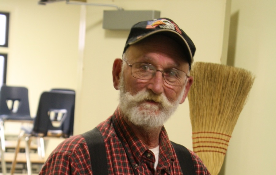 Robert Rosie was the Head Custodian of Lincoln and was working for the district for over 30 year