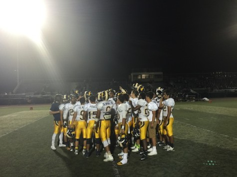 Lincoln Wins First Football Game
