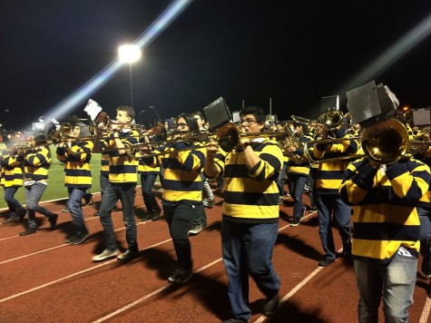 Lincoln Pep Band First Performance of 2016