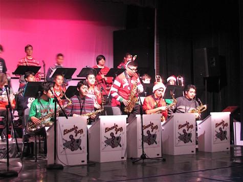 """La banda de Lincoln """"Jazz"""" Concierto de Invierno"""