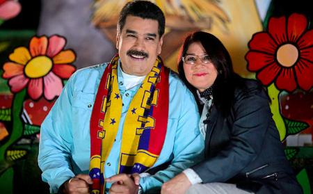Primera Dama de Venezuela critica a los Estados Unidos por secuestrar a sus parientes.