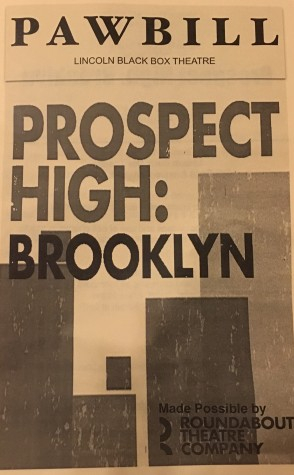 """""""Prospect High: Brooklyn"""" Review"""