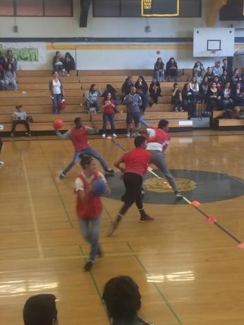 March 10th Juniors vs seniors Dodgeball game