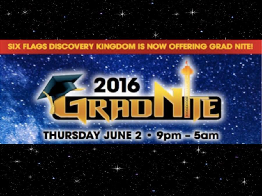 Senior class Grad Night 2016. (Six Flags Discovery Kingdom / Lion Tales)