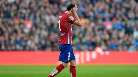 Diego Godín will miss the semi-final first leg in the Champions (traducido de español a inglés)