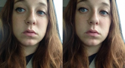 Before & After of Emily Pleque/ YouCam Beauty App