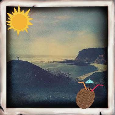 Santa Cruz Beach/Befunky edit (Melissa Blasquez/Lincoln Lion)