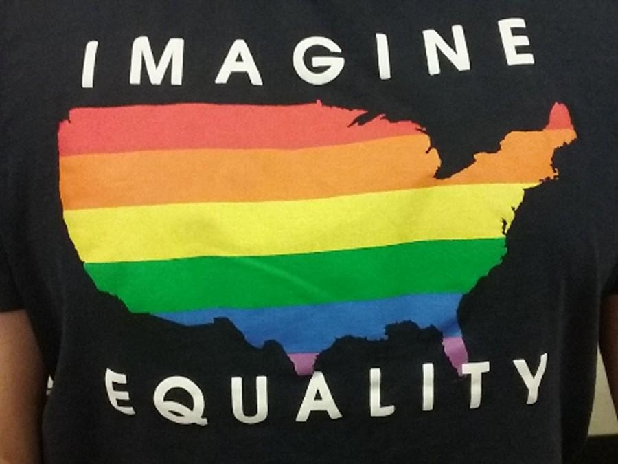 Ronald Demetriades wearing equality t-shirt( Melissa Blasquez/Lincoln Lion)