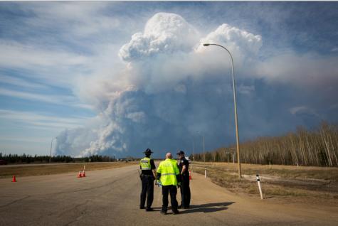 Fuego incontrolado más grande de Canadá
