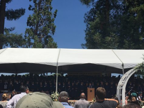 Video: Lincoln Graduation 2016 Was Fire (it was 90 degrees)