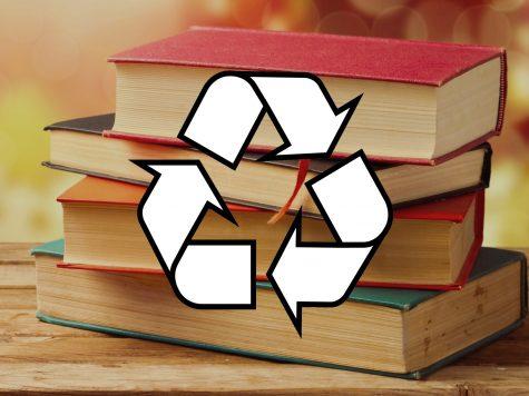 ¿Quieren más libros en el centro de media? Recicla