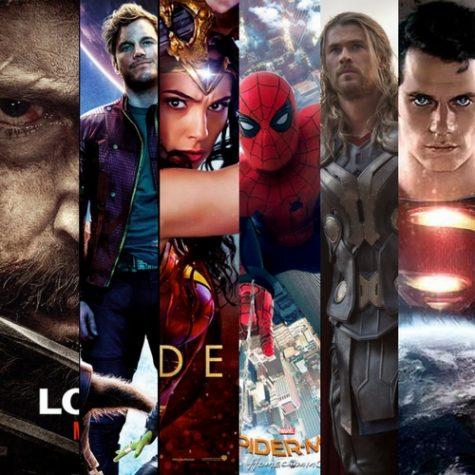 Peliculas de superheroes en 2017