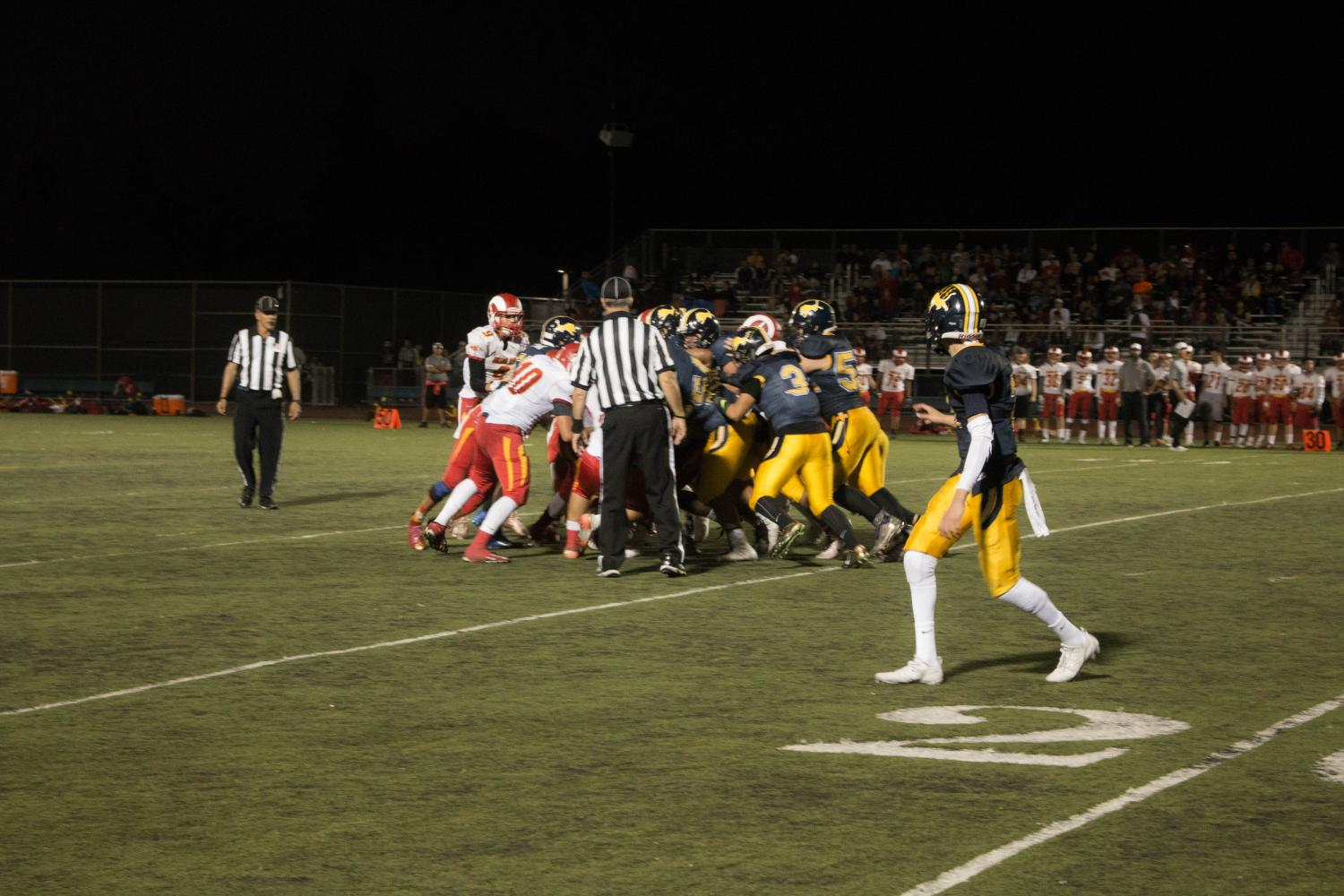 The Lincoln Lions vs. Willow Glen Rams on Sept 8, 2017 (Isaiah Velasquez/Lincoln Lion Tales)