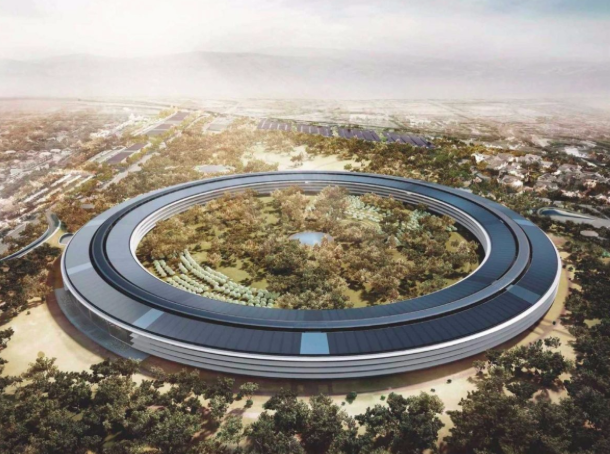 El+nuevo+campus+de+Apple