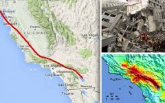 California podría ser golpeada por un mega-terremoto