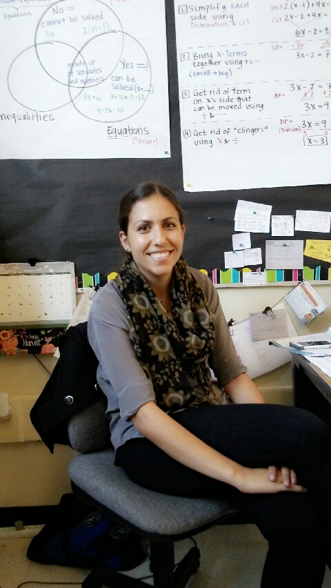 Ms. Katherine Batti, Math teacher at Lincoln High School (Isabelle Santiago / Lincoln Lion Tales)