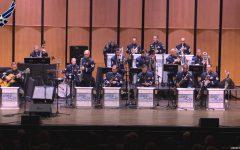Banda de Jazz del Ejército visita California