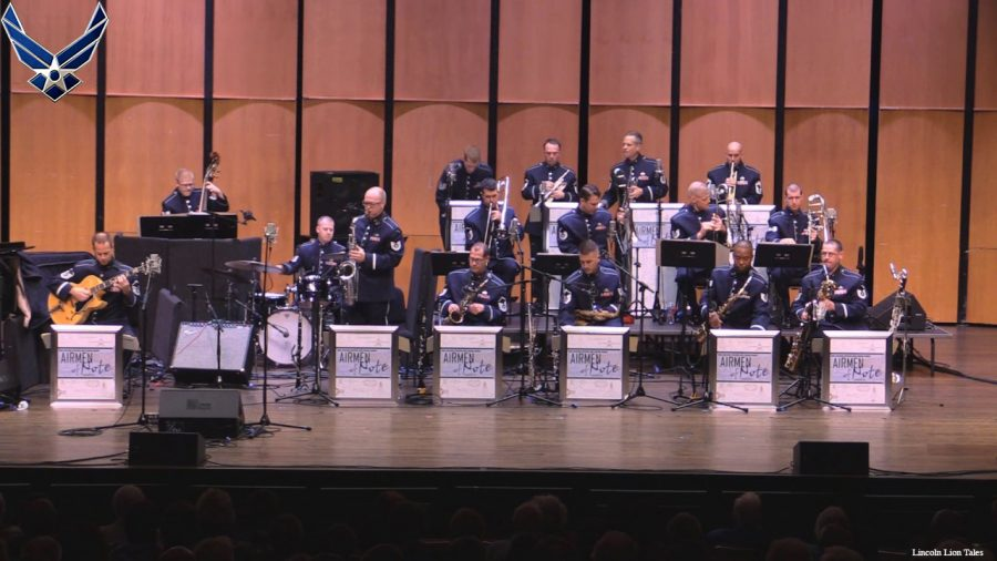 U.S. Air Force Jazz Band Tour California
