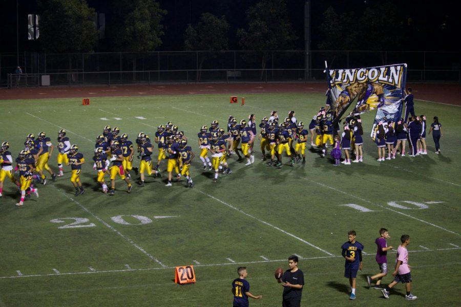Lincoln Lions vs. Piedmont Hills Pirates on 10/27/17 (Isaiah Velasquez/Lincoln Lion Tales)