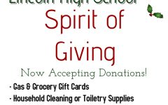 Lincoln High School: Spirit of Giving