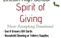 Lincoln High School: Spirit of Giving