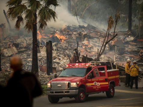 Incendios forestales amenazan el sur de California