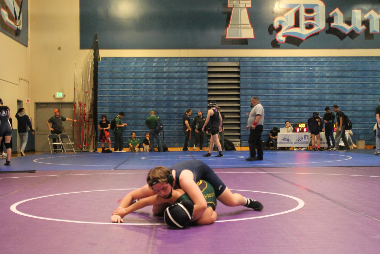 On February 2nd and 3rd, the Lincoln girls wrestling team participated in the CCS tournament.