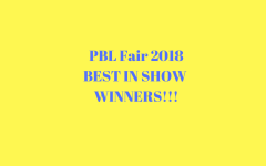 PBL Fair 2018: Best in Show