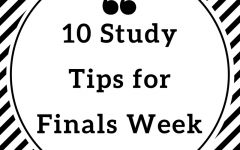 10 Study Tips for Finals Week