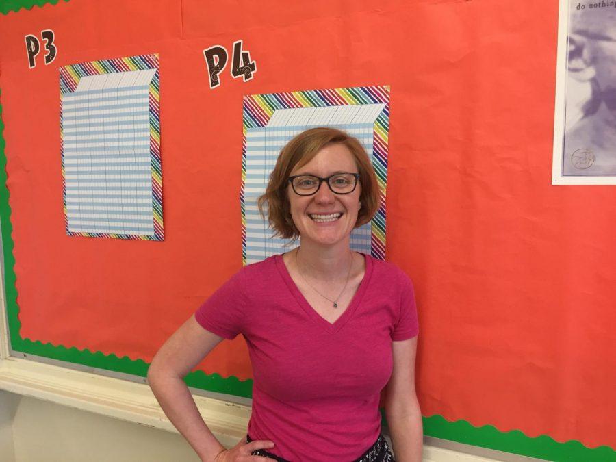 Jen Creech/New english teacher