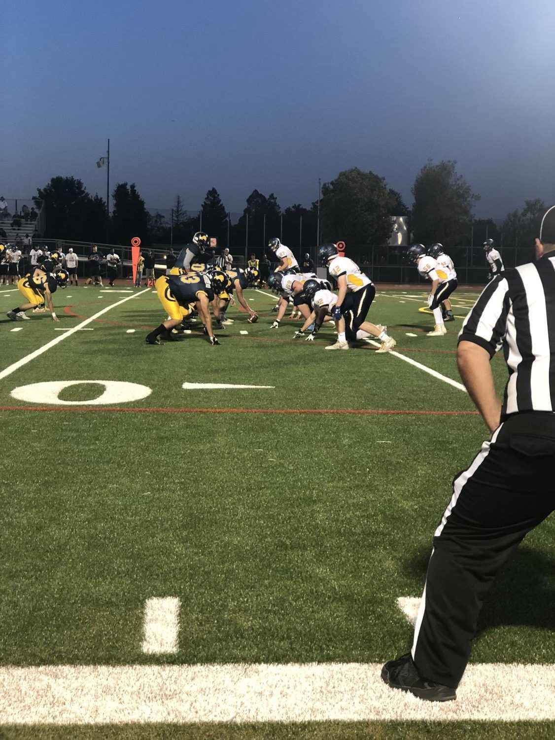 Lions vs Leland September 21, 2018.  Lincoln won the game 48-28. (Anastasia Cervantes / Lincoln Lion Tales)