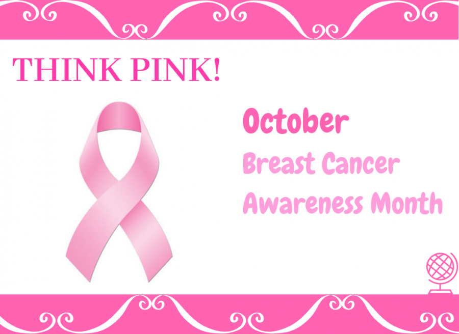 The Official Pink Breast Cancer Loop, representing support and connection to breast cancer (edited by Jennifer Schwarz/Lincoln Lion Tales)