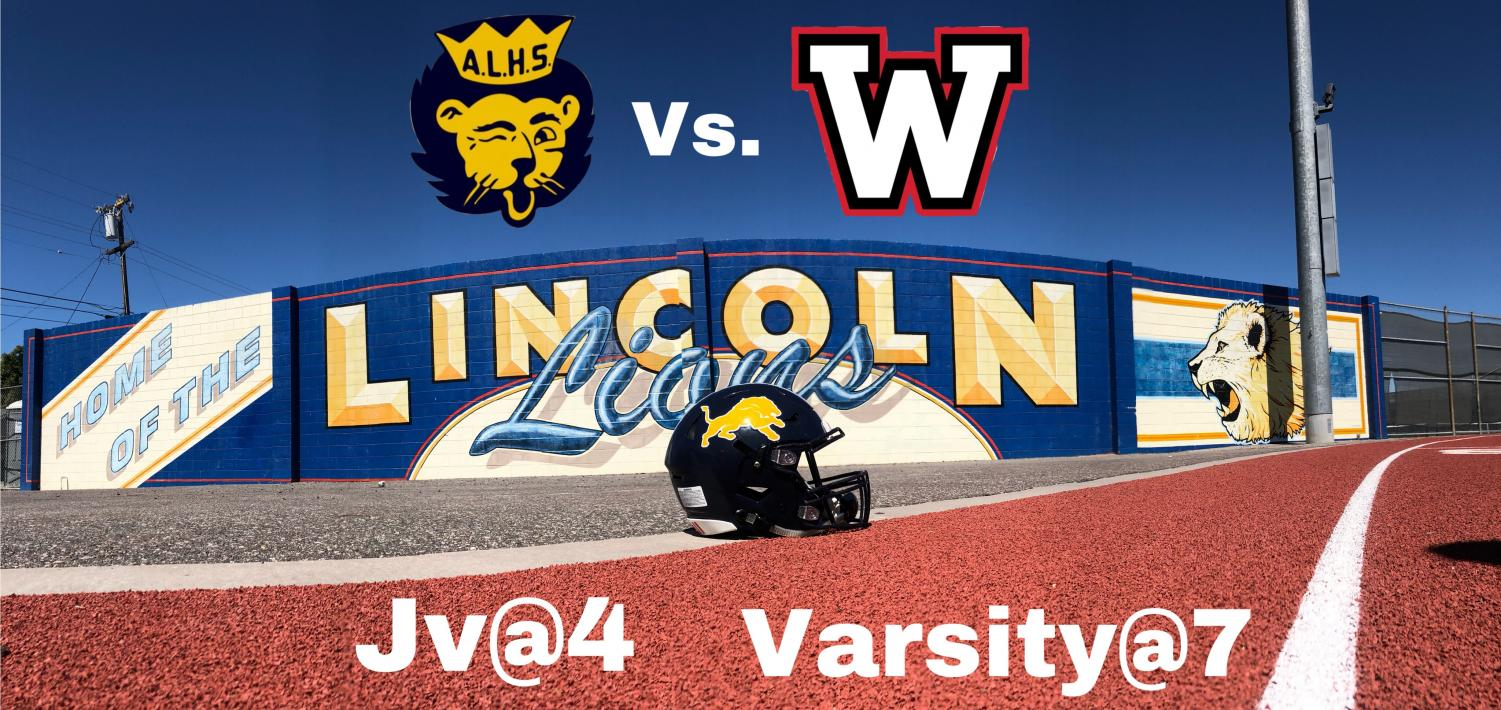 On October 5th, the Varsity Lions won the game 42-12 against the Westmont Warriors. (Anastasia Cervantes / Lincoln Lion Tales)