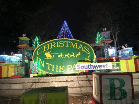 November 27th, 2018. Christmas in the park located in the Cesar Chavez Plaza. (Elisa Delgado / Lincoln Lion Tales)