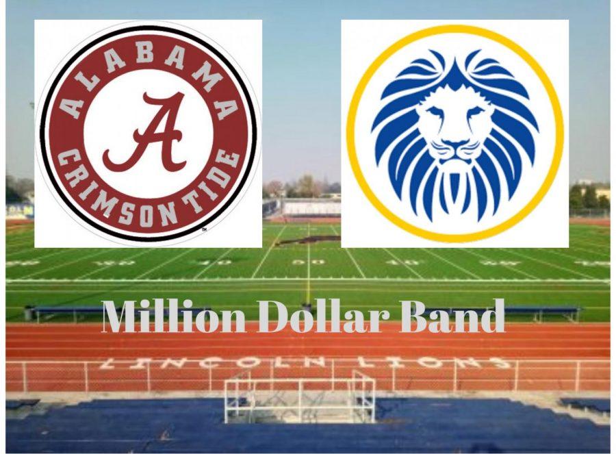 CFP en Lincoln: Banda de un 1 millón de dólares practica en la lluvia en el campo