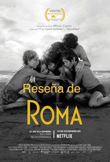Roma, película galardonada con el premio Oscar