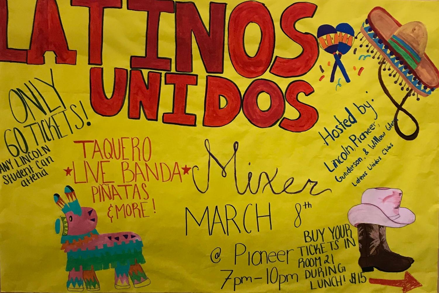 March 8, 2019 is the day of the first ever Latinos Unidos
