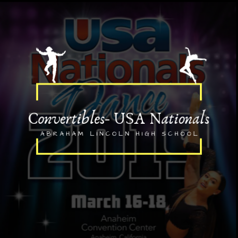 Lincoln High School's Convertibles Team at USA Nationals