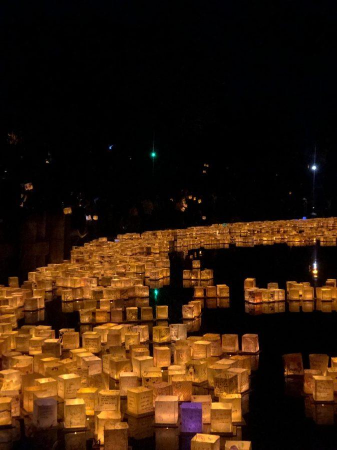 Almaden Lake Welcomes Water Lantern Festival