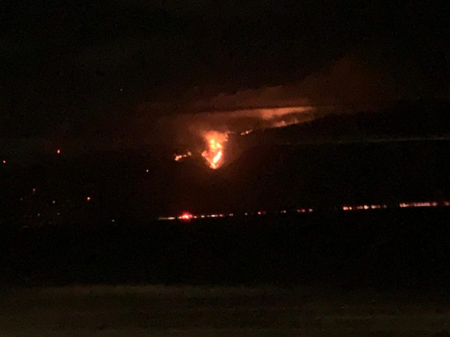 Wildfire Witness: A Fire in Maui?